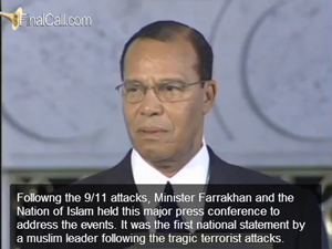 Minister Farrakhan speaks on 9/11 terrorist attacks