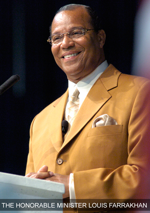 Louis Farrakhan Minister Louis Farrakhan Black Family Day: May 27 1974