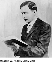 Allah in person Master Fard Muhammad.