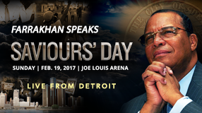 Saviours' Day 2017 Keynote Address