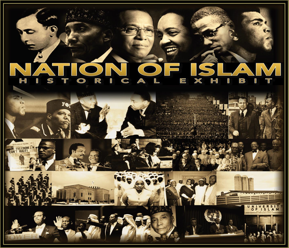 """Oral History Presentations""  Friday & Saturday– 5:30-7:30 pm  Hear The History & Embody The Experience  Rare historical documents of the NOI, Muhammad Ali, Malcolm X, vintage NOI business items and historic lectures"