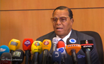 Tehran, Iran Press Conference with Minister Louis Farrakhan