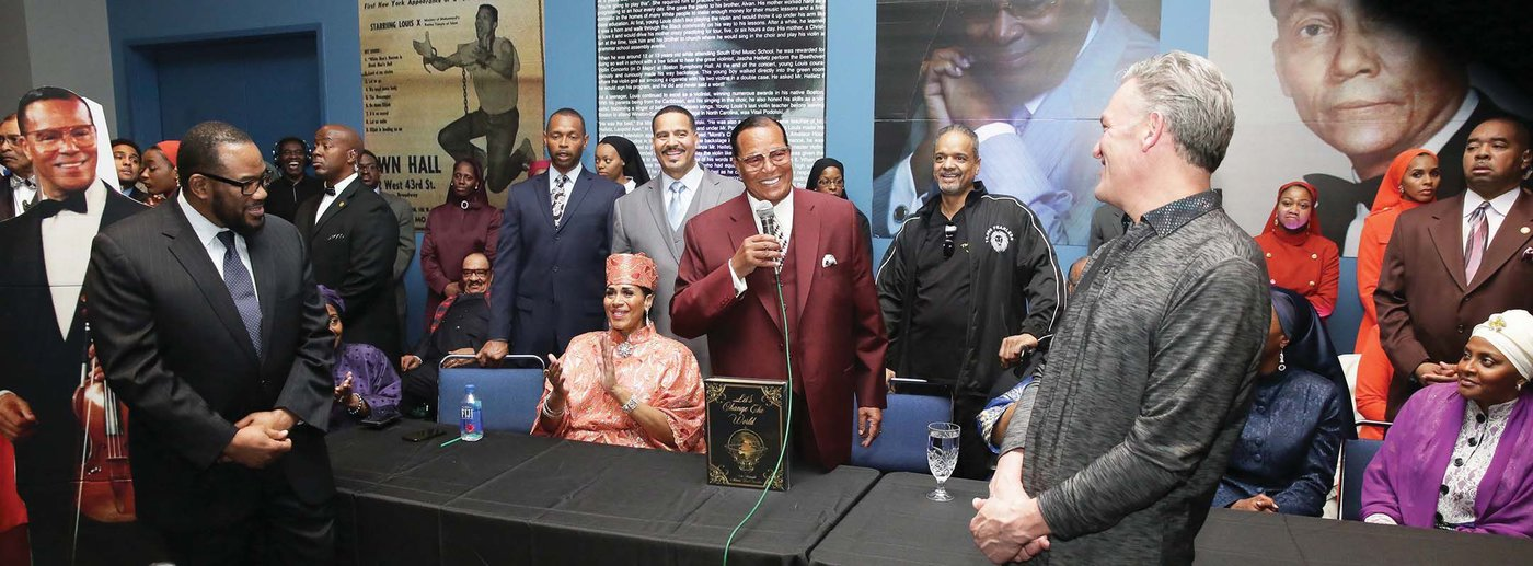 Minister Louis Farrakhan's Music - Let's Change The World