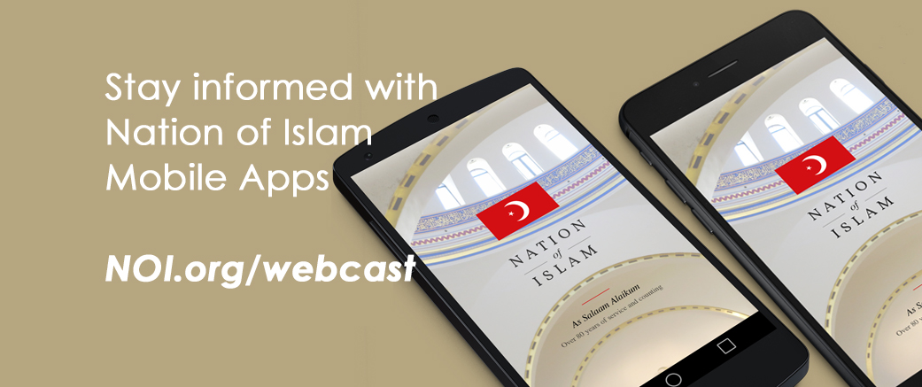 Nation of Islam Live Webcast - Featuring the Sunday Live Stream