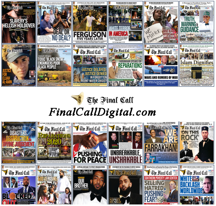Final Call Digital Edition